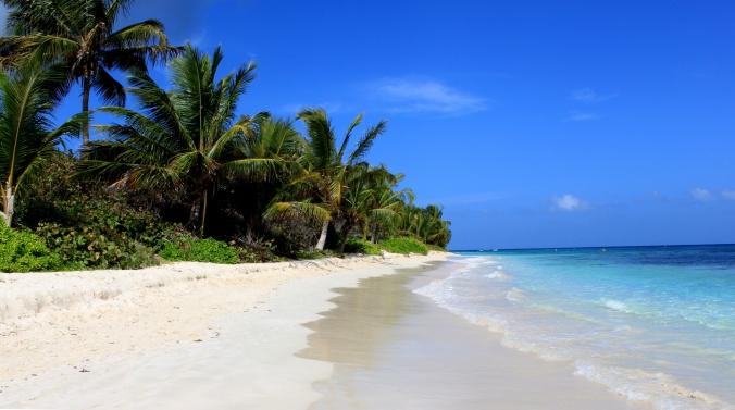 Die puerto-ricanische Insel Culebra trumpft mit wunderschönen Stränden auf. Hier: Flamenco Beach