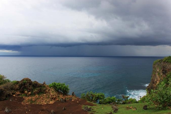 Endlich ziehen die lang erwarteten Regenwolken auf...
